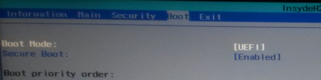 Acer Aspire E 15 – Boot from USB – NinjaStik